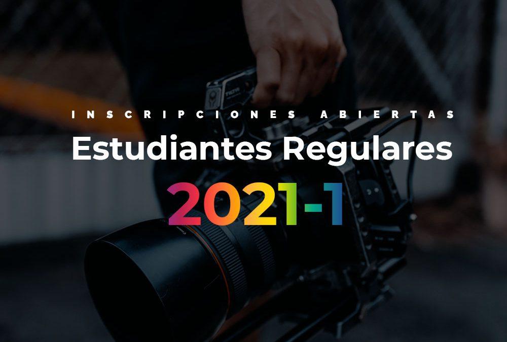 Inscripción para alumnos regulares período 2021-I