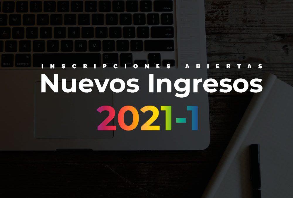 Nuevos Ingresos Período 2021-1