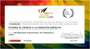 premio festival de cine venezolano